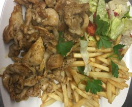Shawarma_meat_chicken_French_fries_salat